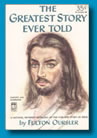 Portrait of Jesus Christ, by Fulton Oursler, original book cover, print of original now available